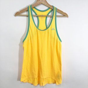 Adidas Neon Racer Back Athletic Tank Top Small